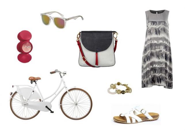 Modne STYLIZACJE na rower - lato 2014
