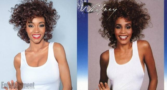 Yaya DaCosta i prawdziwa Whitney Houston