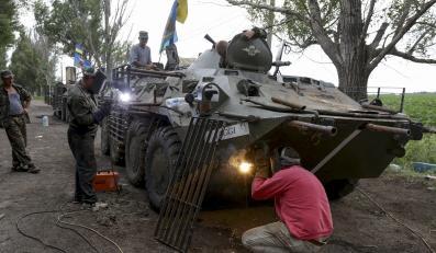 Ukraiński transporter opancerzony