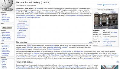 Londyńska galeria idzie na wojnę z Wikipedią