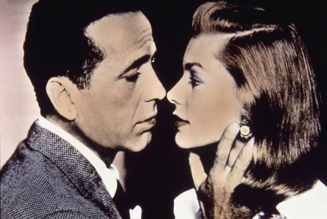 Humphrey Bogart (na zdjęciu z Lauren Bacall)
