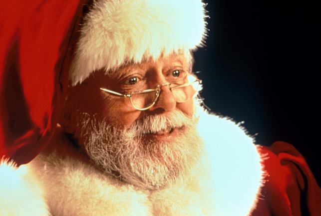 """Richard Attenborough jako """"Święty Mikołaj z 34. ulicy"""""""