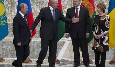 Uczestnicy spotkania w Mińsku