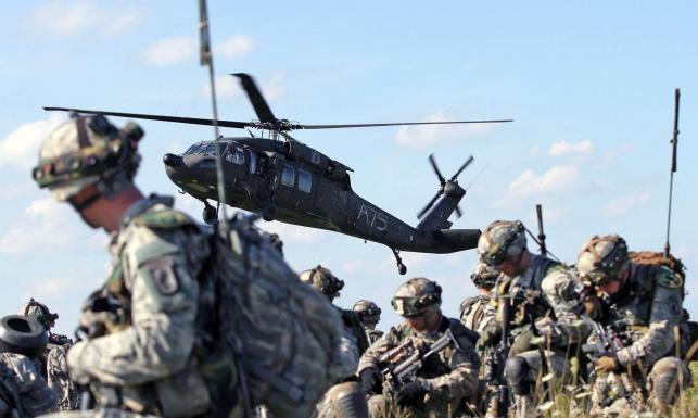 Amerykanie ćwiczą ataki w Niemczech. Zobacz ZDJĘCIA