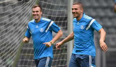 Kevin Grosskreutz i Lukas Podolski
