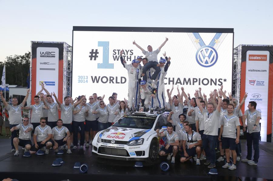Volkswagen rajdowym mistrzem świata