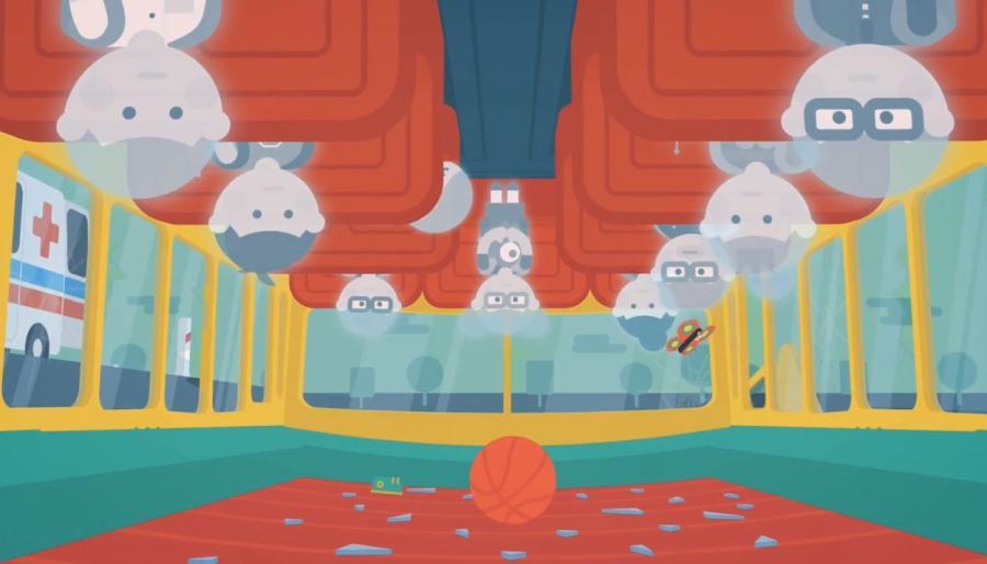 Kadr z filmu Ministerstwa Spraw Wewnętrznych
