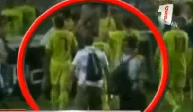 Szok! Dzienikarz opluł piłkarza.