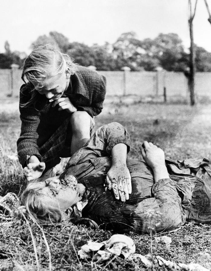 Ofiara nalotów niemieckich na Polskę we wrześniu 1939 roku