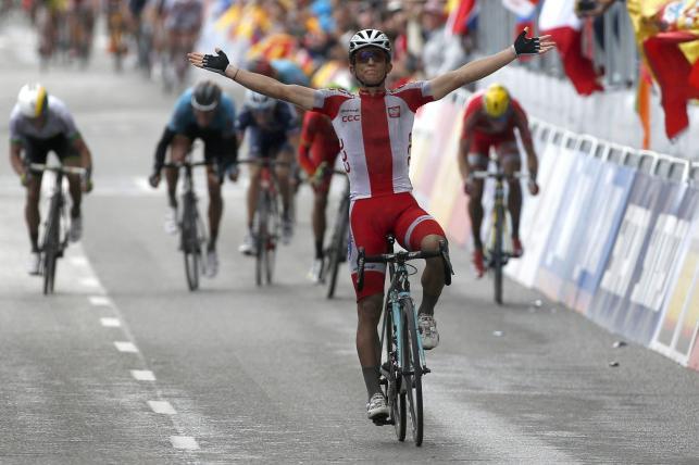 Tak Michał Kwiatkowski został mistrzem świata! Zobacz jak jechał po złoto