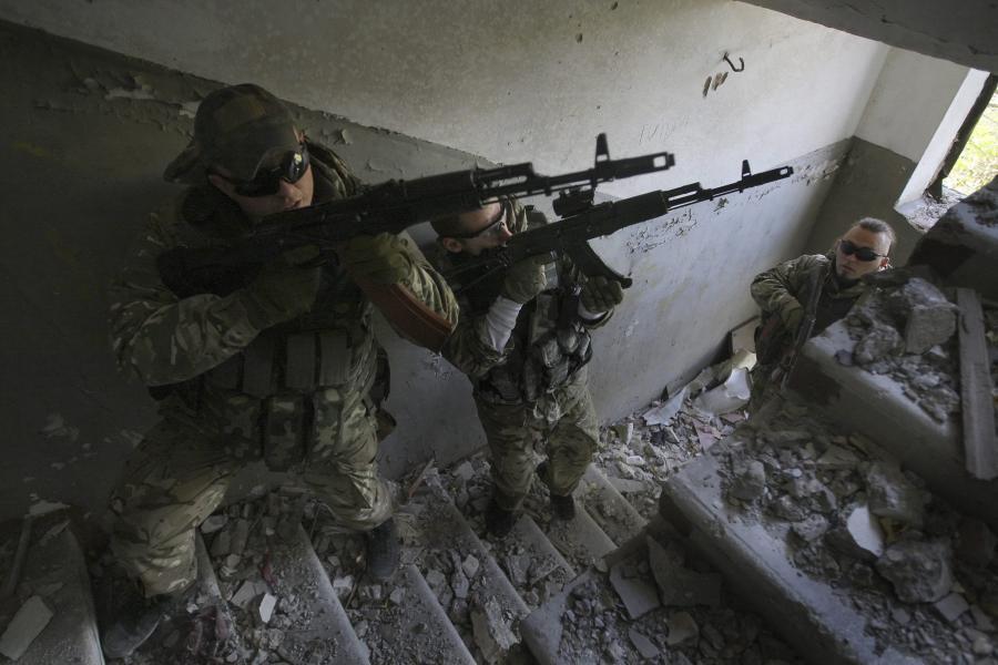 Batalion Azow na Ukrainie