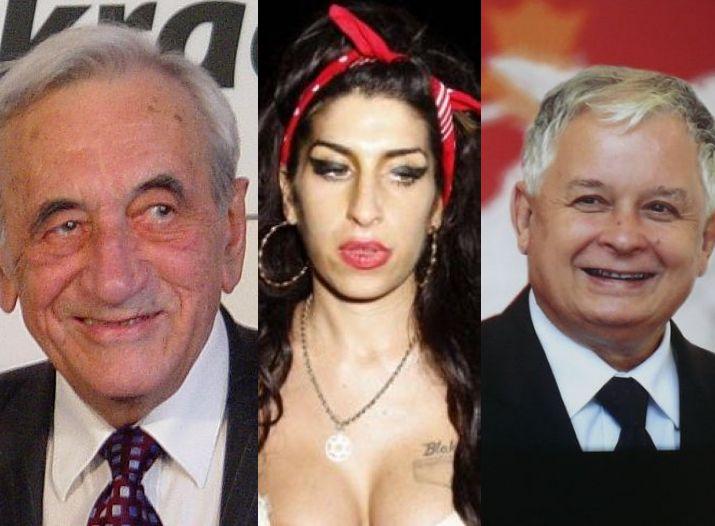 Tadeusz Mazowiecki, Amy Winehouse i Lech Kaczyński