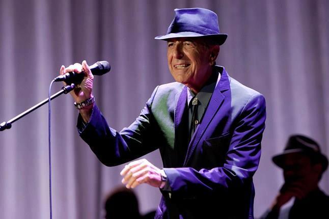 Leonard Cohen wydał \