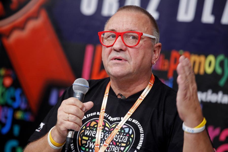Szef Fundacji Wielkiej Orkiestry Świątecznej Pomocy, główny pomysłodawca i realizator corocznego Finału WOŚP Jurek Owsiak