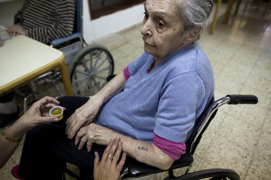 Rachel Nachshon ma 89 lat, pochodzi z Grecji.
