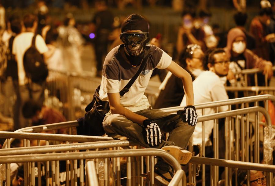 Starcia w Hong Kongu