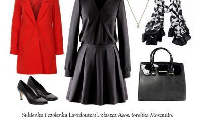 Z czym nosić czarne ubrania jesienią 2014? STYLIZACJE