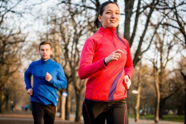 Jesienny jogging
