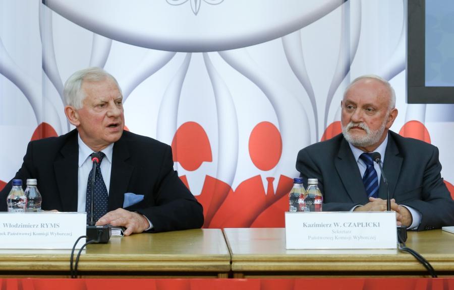 Konferencja prasowa PKW