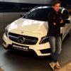 Kamil Stoch i mercedes GLA 45 AMG