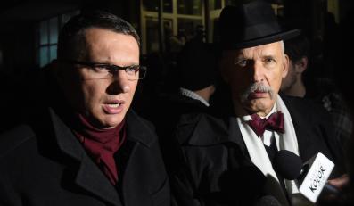 Przemysław Wipler i Janusz Korwin-Mikke