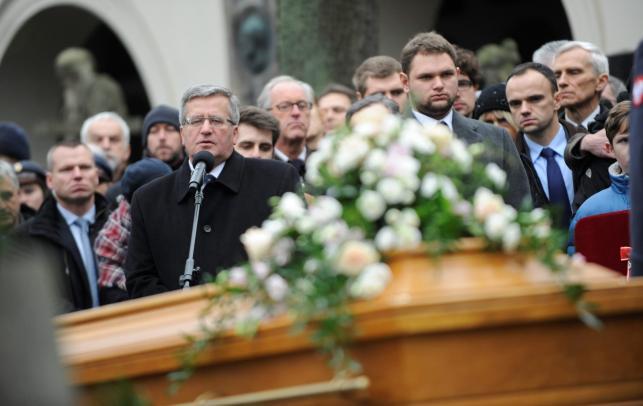 Pogrzeb córki marszałka Józefa Piłsudskiego. Jadwiga Piłsudska-Jaraczewska pochowana na Powązkach