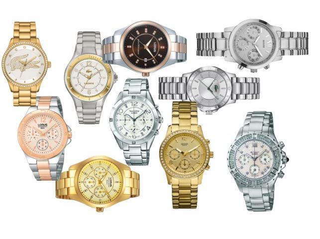 Stalowe zegarki dla kobiet