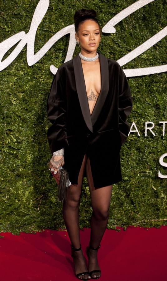 Rihanna na British Fashion Awards 2014