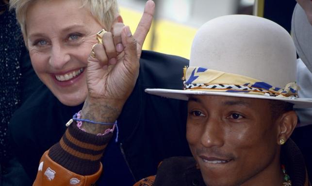 Pharrell Williams dostał swoją gwiazdę w Alei Sław [ZDJĘCIA]