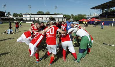 Mecz MŚ Ampfutbolu w Meksyku