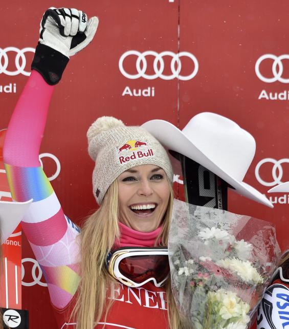 Piękna alpejka wygrała po blisko dwóch latach. Lindsey Vonn najlepsza w Lake Louise