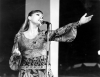 Irena Santor, zdobywczyni I nagrody na I Międzynarodowym Festiwalu Piosenki w hali Stoczni Gdańskiej w 1961 roku