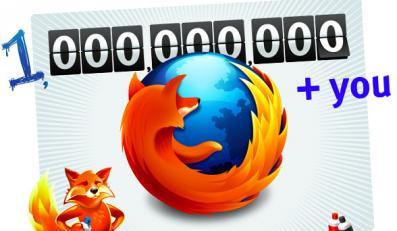 Firefox: prawie miliard pobrań!