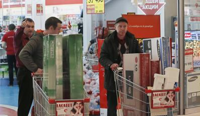 Rosjanie na zakupach