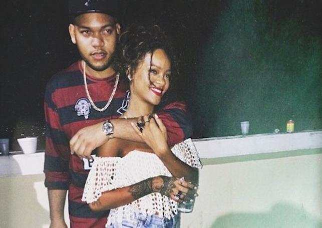 Rihanna i jej brat Rorrey Fenty