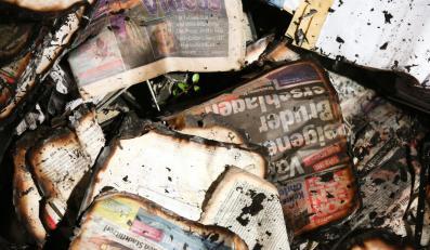 Spalone gazety