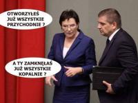 Kopacz walczy z górnikami, a Kaczyński staje się jednym z nich. MEMY TYGODNIA