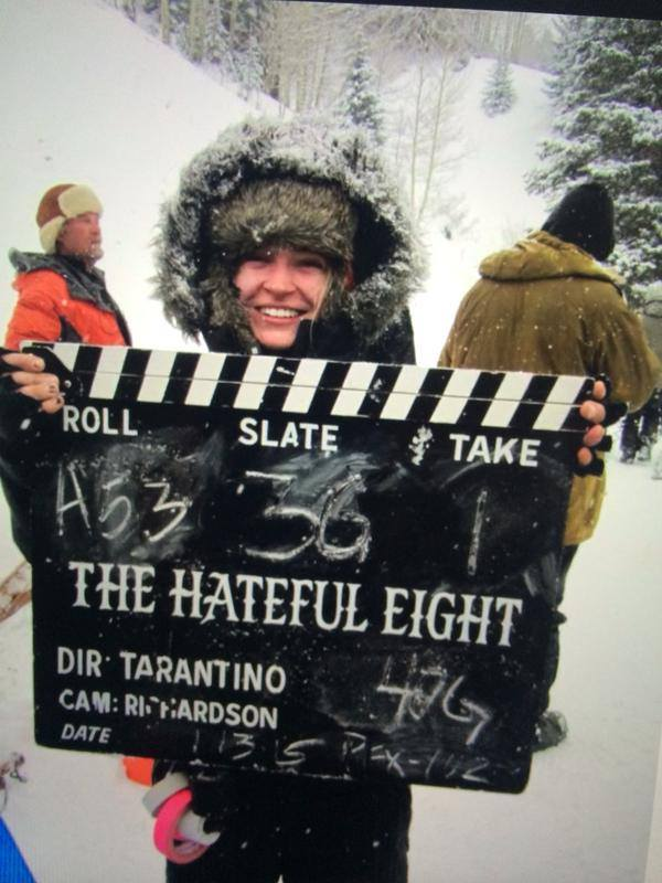 "Quentin Tarantino ruszył z ""Hateful Eight"""