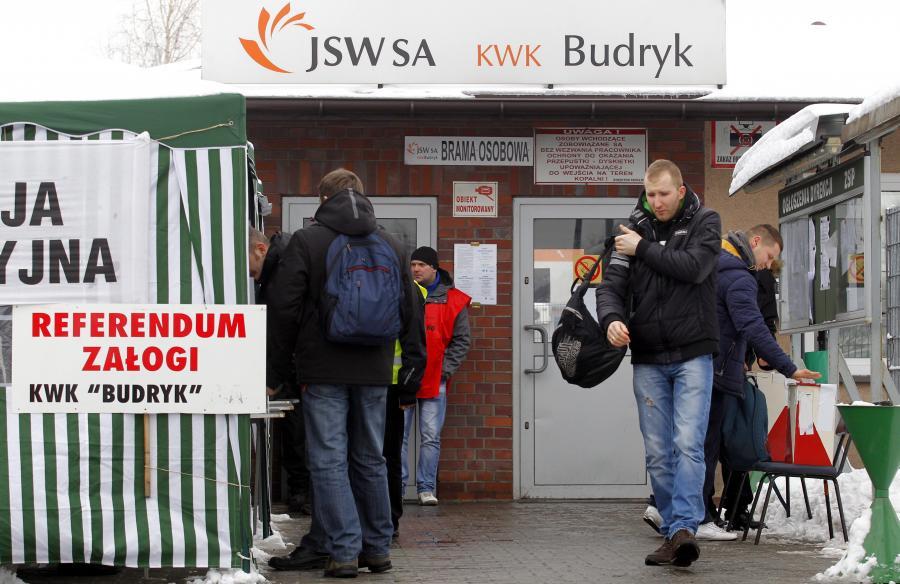 Referendum w kopalni Budryk