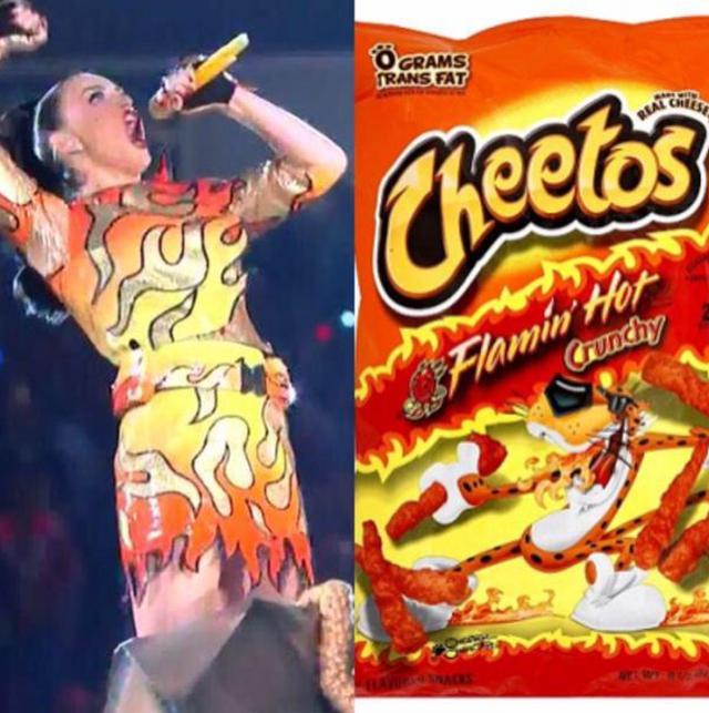 Katy Perry prawie jak paczka chipsów