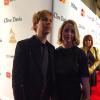 Beck na czerwonym dywanie gali Grammy 2015