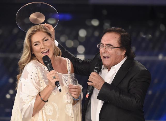 Al Bano i Romina Power na festiwalu w San Remo