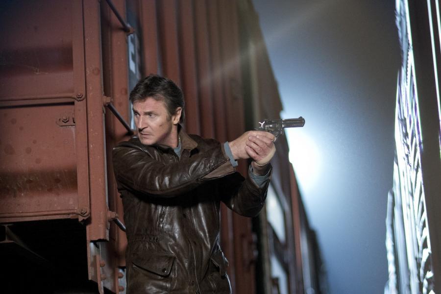 Liam Neeson w filme \