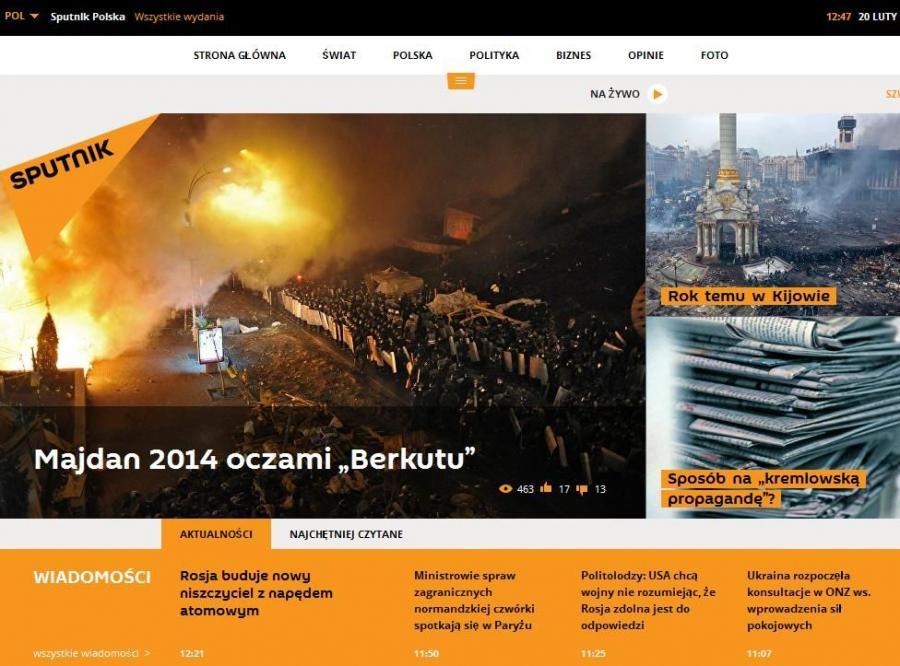 Propagandowy Sputnik