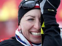 Justyna Kowalczyk w Falun jeszcze bez medalu, ale humor jej dopisuje. ZDJĘCIA