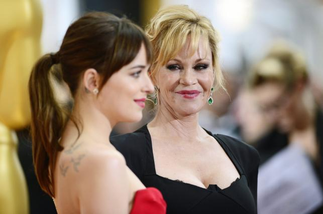 Melanie Griffith i jej córka Dakota Johnson