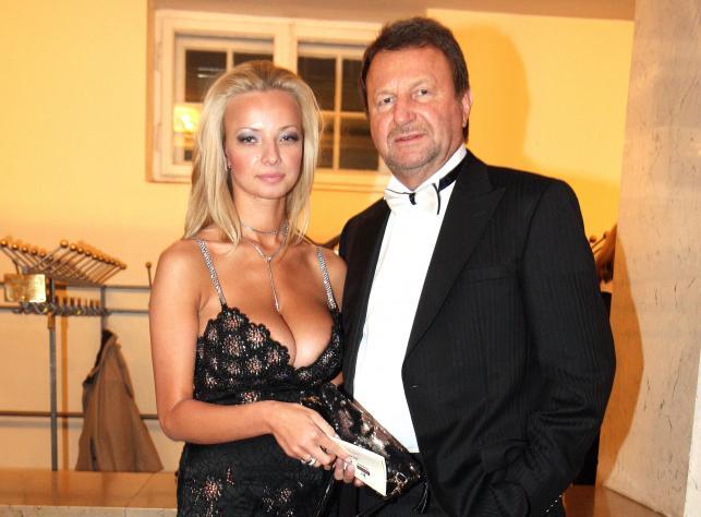 Laura Michnowicz i Józef Wojciechowski