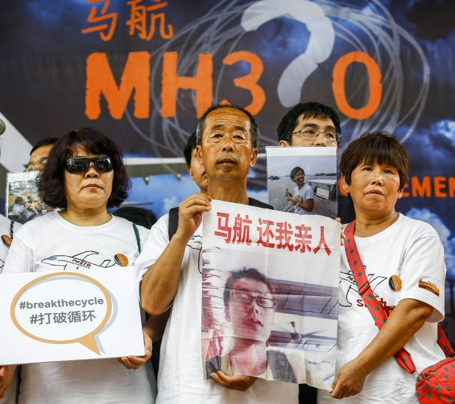 Bliscy ofiar lotu MH370