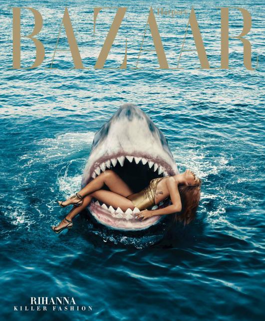 "Rihanna w ""Harper's Bazaar"""