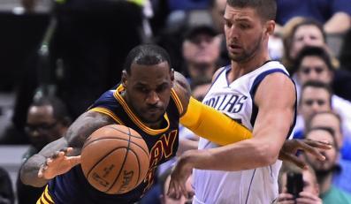 LeBron James z drużyny Cleveland Cavaliers